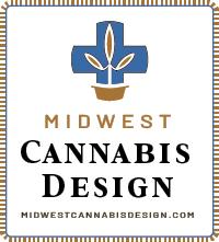 midwest cannabis design logo ad
