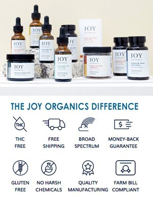 joy organics display differences